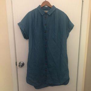 Madewell Denim Shirt-Dress